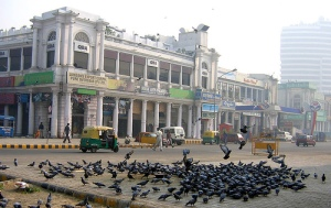 "Connaught Place as it used to look pre-""renovation"" (photo credit: delhitravel.org)"