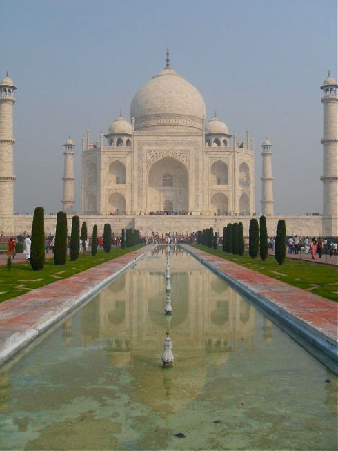 The Taj in all its glory.