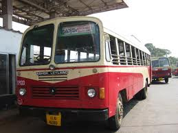 A Keralan bus (photo care of: learn-malayalam.com)